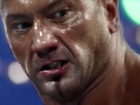 Batista breaks John Cenas neck at SummerSlam 2008