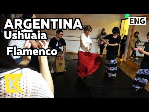 【K】Argentina Travel-Ushuaia[아르헨티나 여행-우수아이아]일상에서 즐기는 플라멩고/Flamenco/Dance