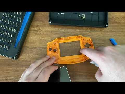 Let's Install A Gameboy Advance Backlit IPS Display Mod