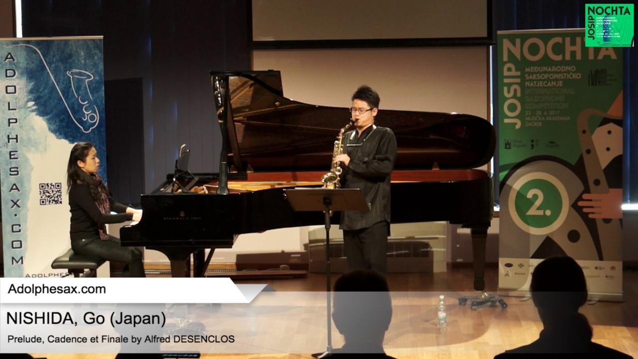 Prelude, Cadence et Finale by Alfred Desenclos –  NISHIDA, Go Japan