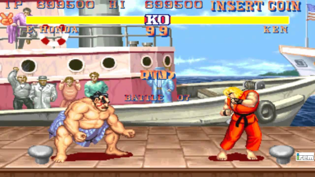 street fighter 2 the world warrior full perfect e honda. Black Bedroom Furniture Sets. Home Design Ideas