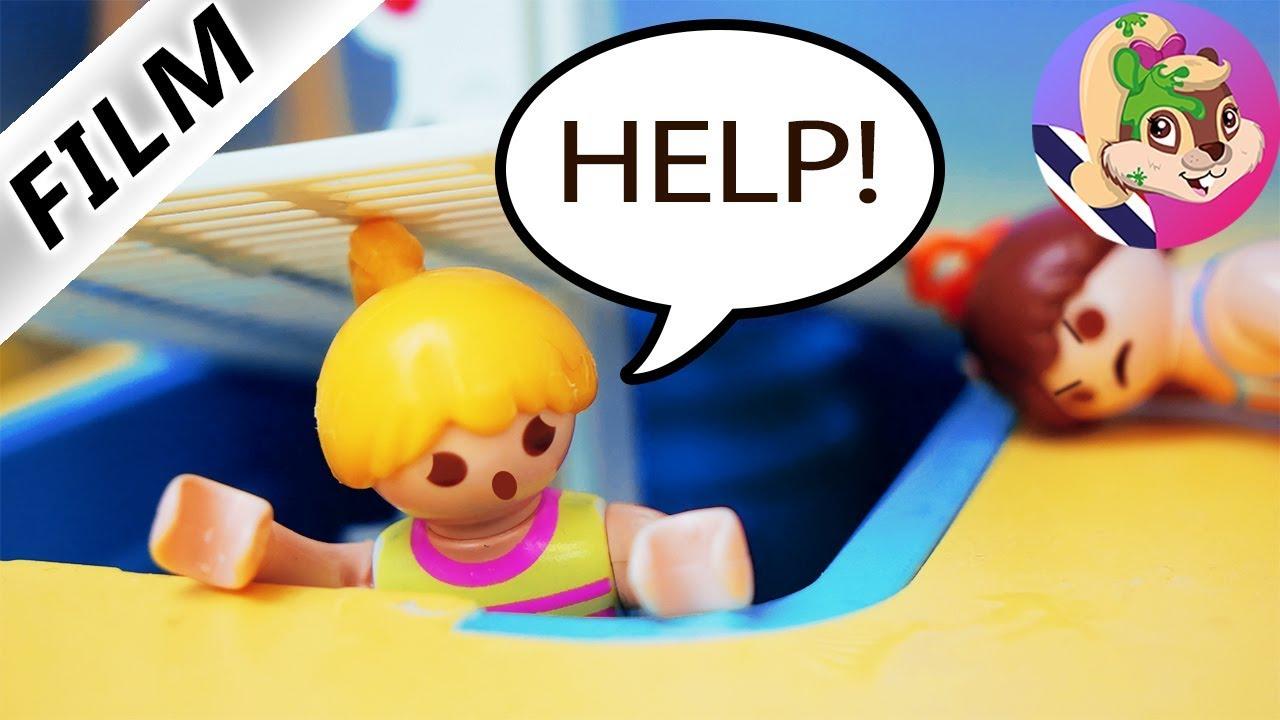 นิทานเพลย์โมบิล ครอบครัวโฟเกล ตอน ฮันน่าถูกขังในสวนน้ำ