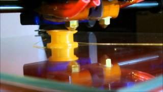 Geeetech Prusa I3 Dual Extruder 3D Printer!