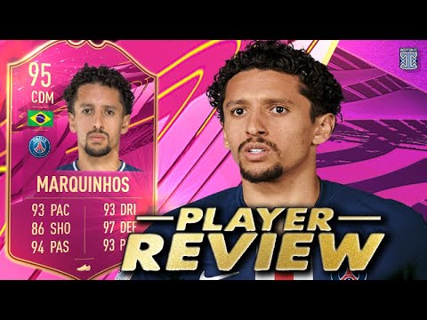 HE'S BACK?! 😍 95 FUTTIES MARQUINHOS PLAYER REVIEW! SBC PLAYER FIFA 21 ULTIMATE TEAM