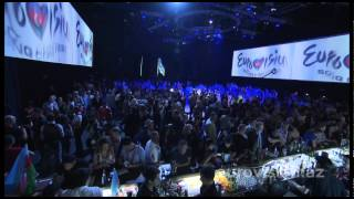 The opening ceremony of Eurovision 2012
