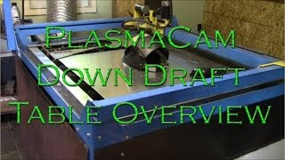 Plasmacam Down Draft Table Overview