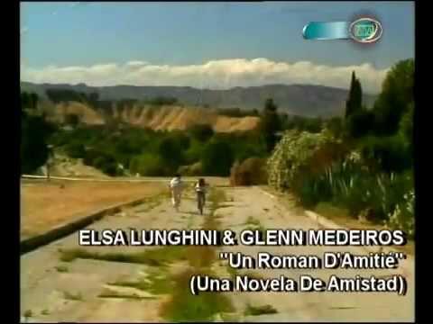 Glenn Medeiros and Elsa Lunghini - Un Roman Amitié Una Nove