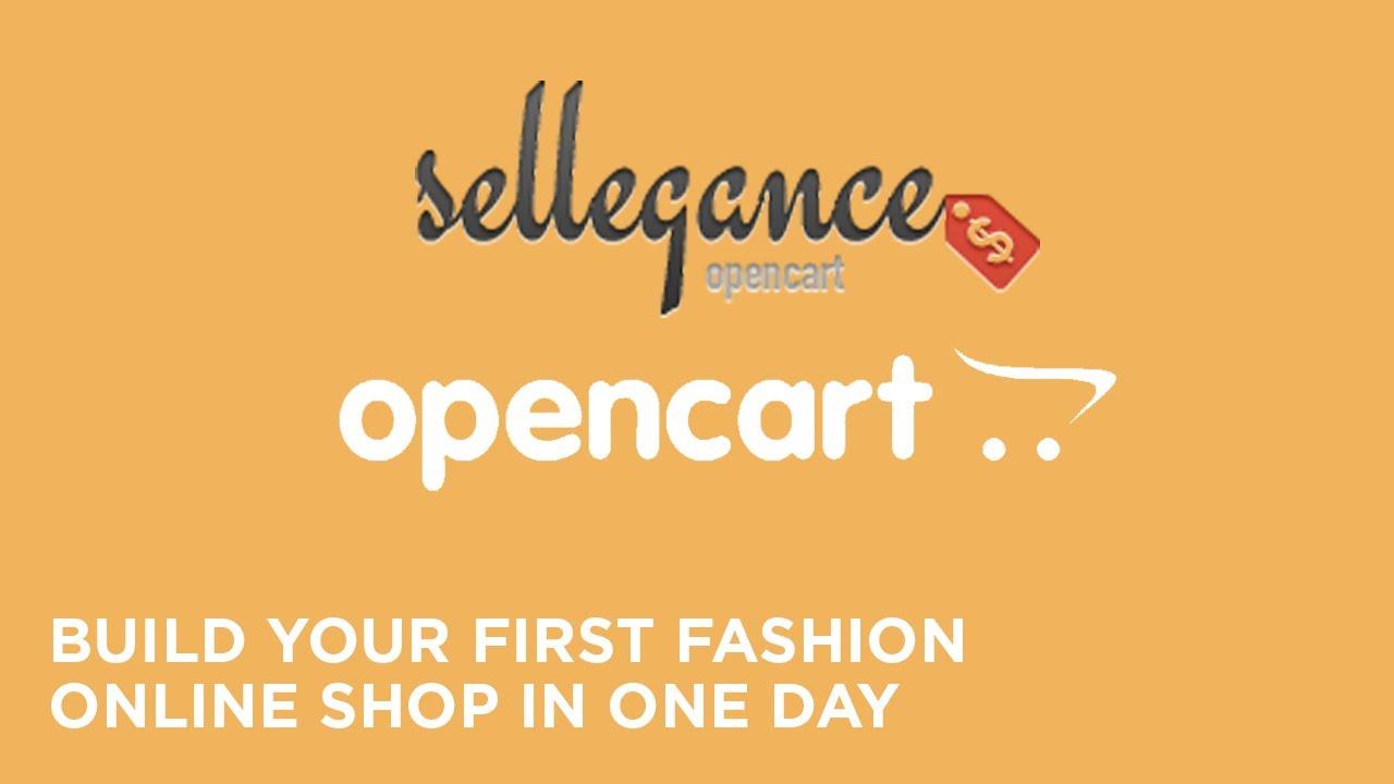 Build A Website Using Opencart