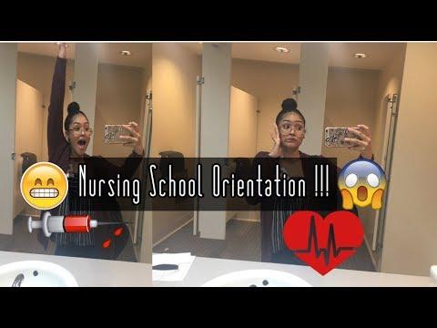 VLOG  Nursing School Orientation+ Target trip !