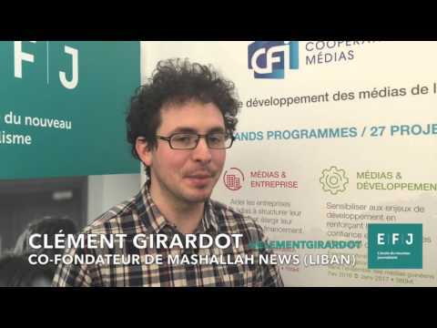 Interview Clément Girardot, co-fondateur de Mashallah News (Liban) #4MParis