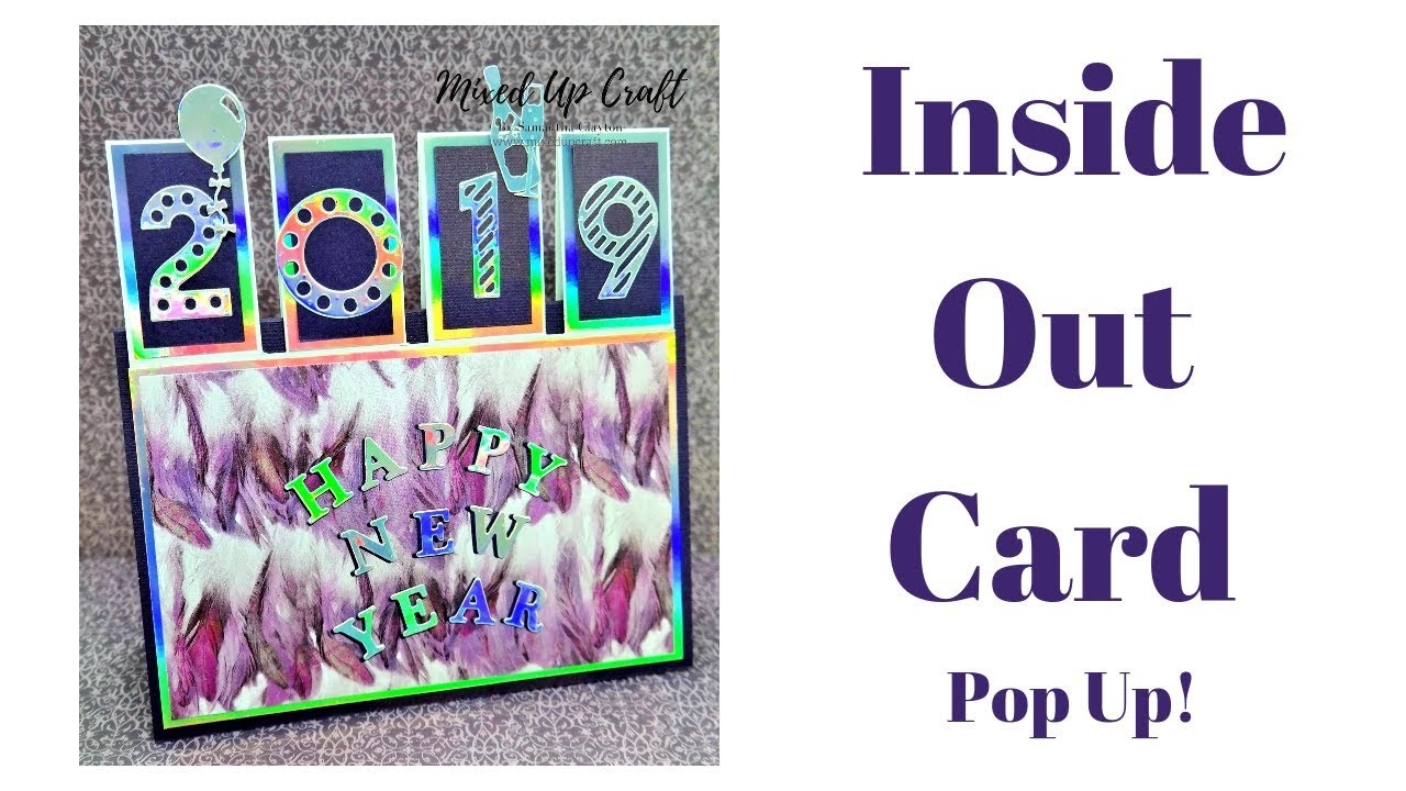 Inside Out Card Original Design Mixed Up Craft Youtube