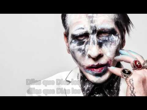 Marilyn Manson - God's Gonna Cut You Down (Subtitulada al español)