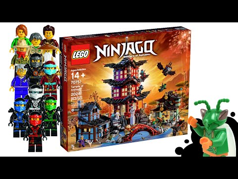LEGO Ninjago Temple of Airjitzu 2015 set - My Thoughts!