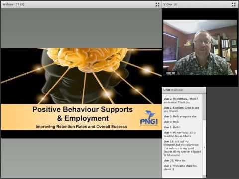 BC PSR AP: Employment Series 2.5 - Positive Behaviour Supports & Employment