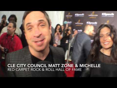 VIDEO: Cleveland City Councilman Matt Zone & Michelle On The Red Carpet