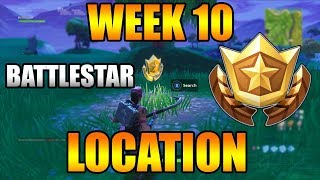 Search Between a Covered Bridge, Waterfall, and the 9th Green   Fortnite Week 10 BattleStar