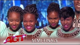 Ndlovu Youth Choir: Dance Group Do South Africa PROUD On The Big Stage! | America's Got Talent 2019