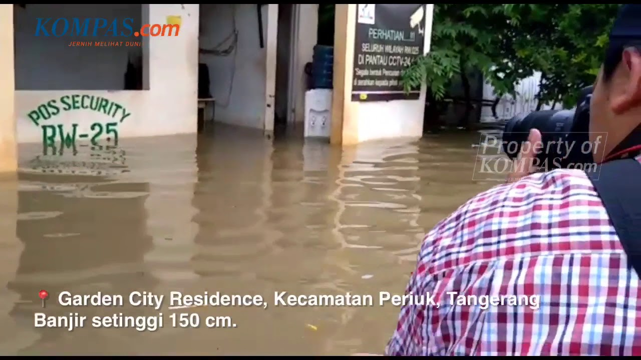 Banjir Di Garden City Residence Tangerang Anak Korban Banjir My Trip My Adventure Youtube