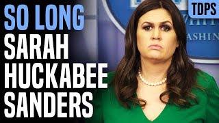 Sarah Huckabee Sanders' Legacy: Shameless Dishonesty