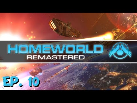 Homeworld Remastered - Ep. 10 - Taking Down the Research Center! - Let's Play
