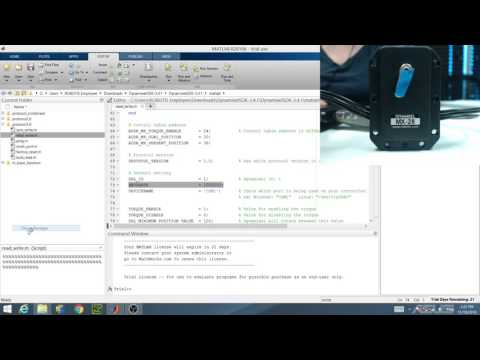Episode 2: ReadWrite MATLAB Example - Single Port Control