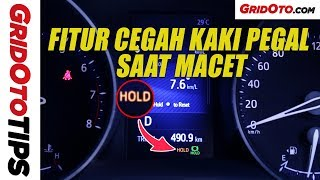 Cara Pakai Brake Hold Toyota C-HR | How To | GridOto Tips