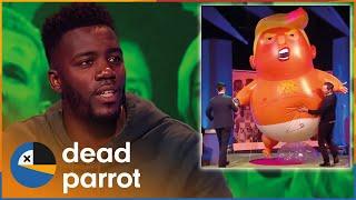 baby-donald-trump-and-hand-jobs-big-fat-quiz-dead-parrot