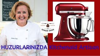 💯👨🍳 Mutfak Aletleri | Kitchenaid Artisan Mikser | En becerikli yardımcım SERVET 👍 - Yemek Tarifleri