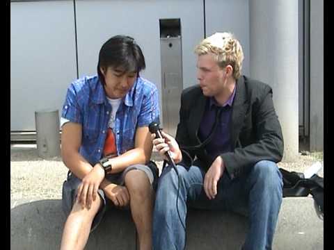 Games Convention Online 2009 - Interview Daniel Bu...