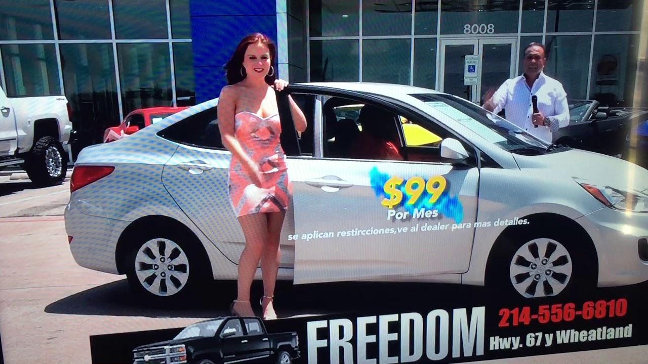Mi Segundo Anuncio De Freedom Chevrolet En Dallas Texas Youtube