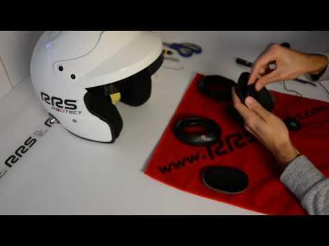 Montage d'un Kit micro HP sur les casques Protect JET RRS