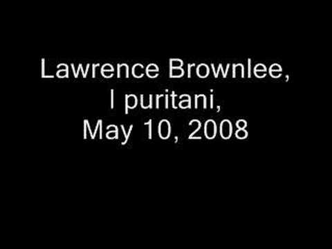 Lawrence Brownlee, Credeasi Misera