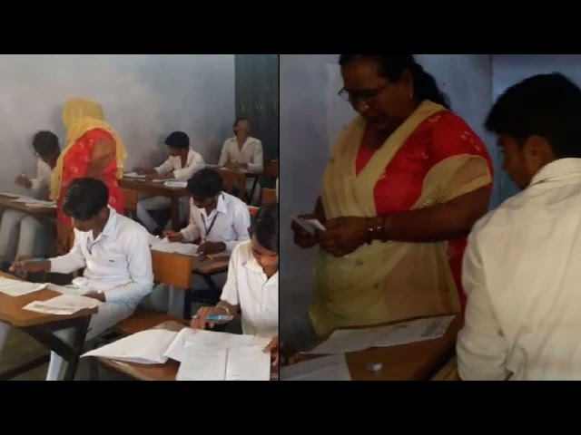 Teacher helps students to cheat in board exams in Haryana