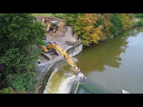 Ballville Dam Removal Day 1