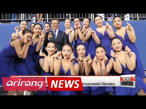 Pres. Moon calls N. Korea's participation in 2018 Olympics the start of Peninsula's peace and ...