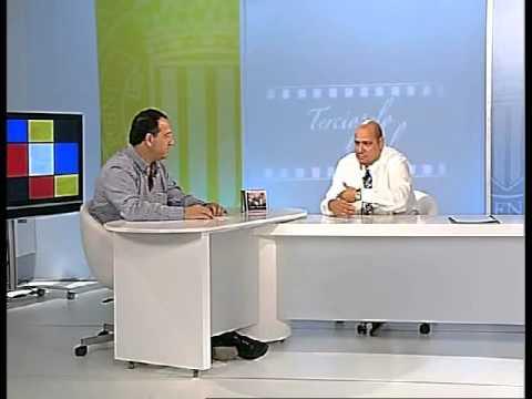 Julio Mendoza en Programa de Television 4