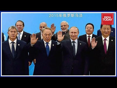 India Formally Inducted To Shanghai Co-operation At Astana Summit
