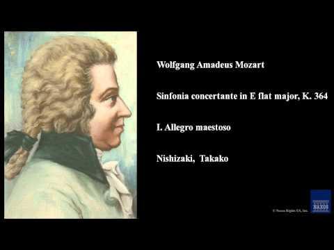 Wolfgang Amadeus Mozart, Sinfonia concertante in E flat major, K. 364, I. Allegro maestoso