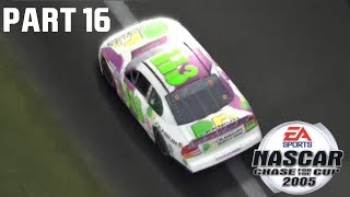 (Last To First Busch Series Debut) NASCAR 2005 Chase For The Cup Career Mode Part #16