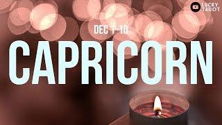 CAPRICORN  Do not let your wrath eat you up inside! (Dec 1-10)