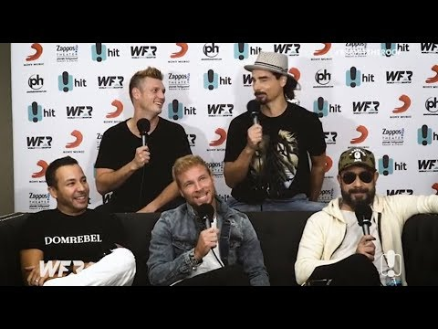 Backstreet Boys  with Carrie & Tommy for the World Famous Rooftop