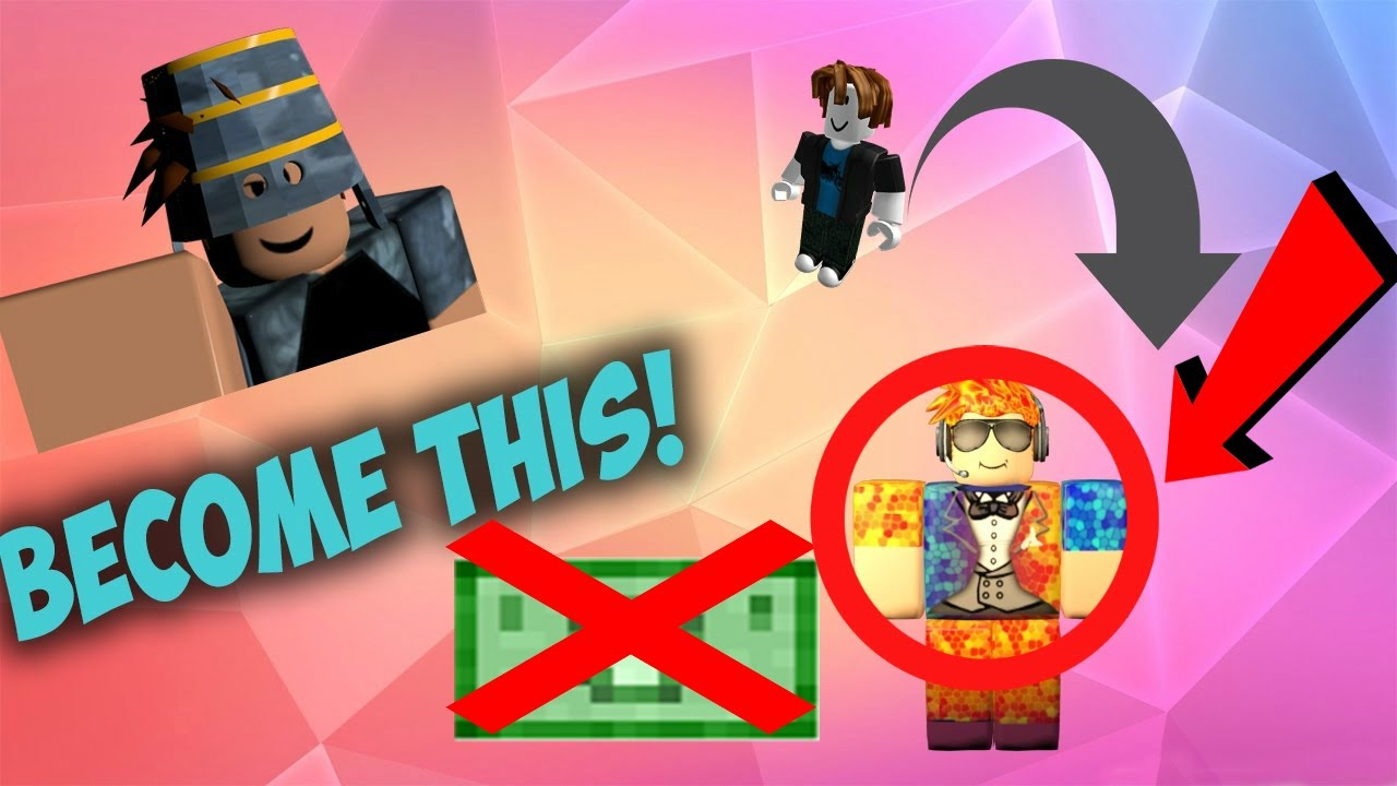 How To Look Rich In Roblox Without Robux Boy Astar Tutorial