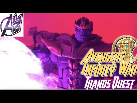 Avengers Infinity War: (Prelude) Thanos Quest [Stop Motion Film]