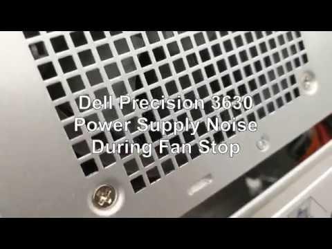 Dell Precision 3630 Fan Noise