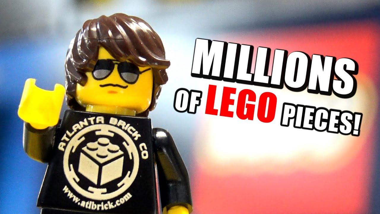 Huge LEGO Store! Tour of Atlanta Brick Co (2021 Update)