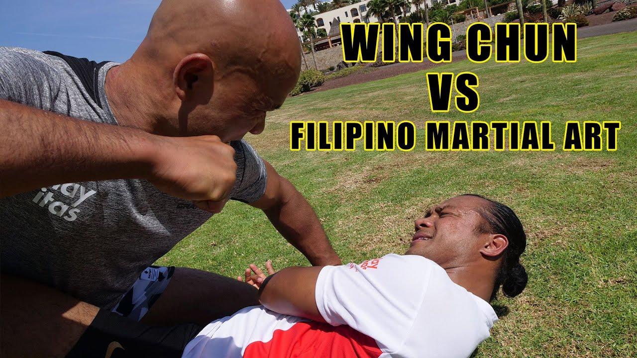 Image result for Filipino Martial Art VS Wing Chun.