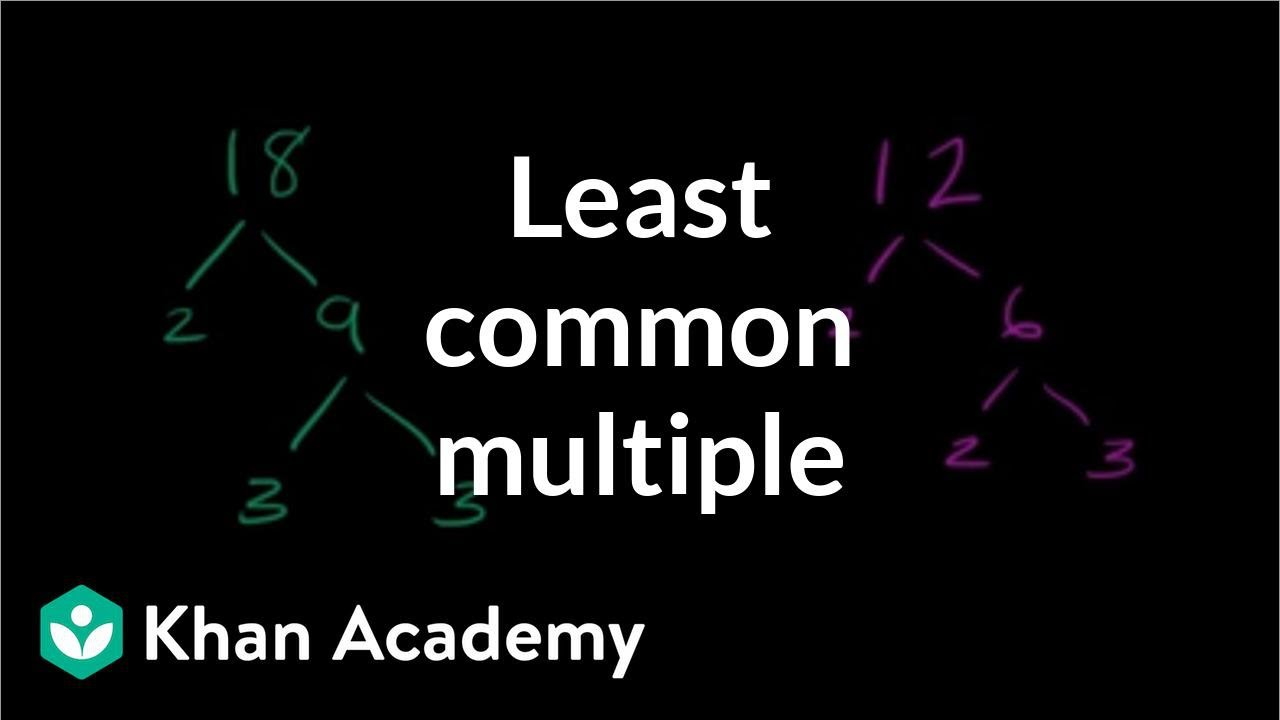 Least common multiple (video) | Khan Academy