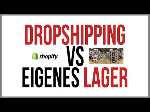 Dropshipping vs. eigenes Lager | Vor- und Nachteile thumbnail