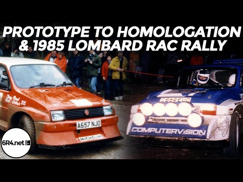 MG Metro 6R4 - From prototype to homologation and the 1985 RAC rally