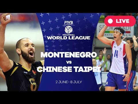 Montenegro v Chinese Taipei - Group 3: 2017 FIVB Volleyball World League